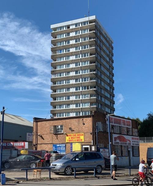 flats (not in Birmingham)